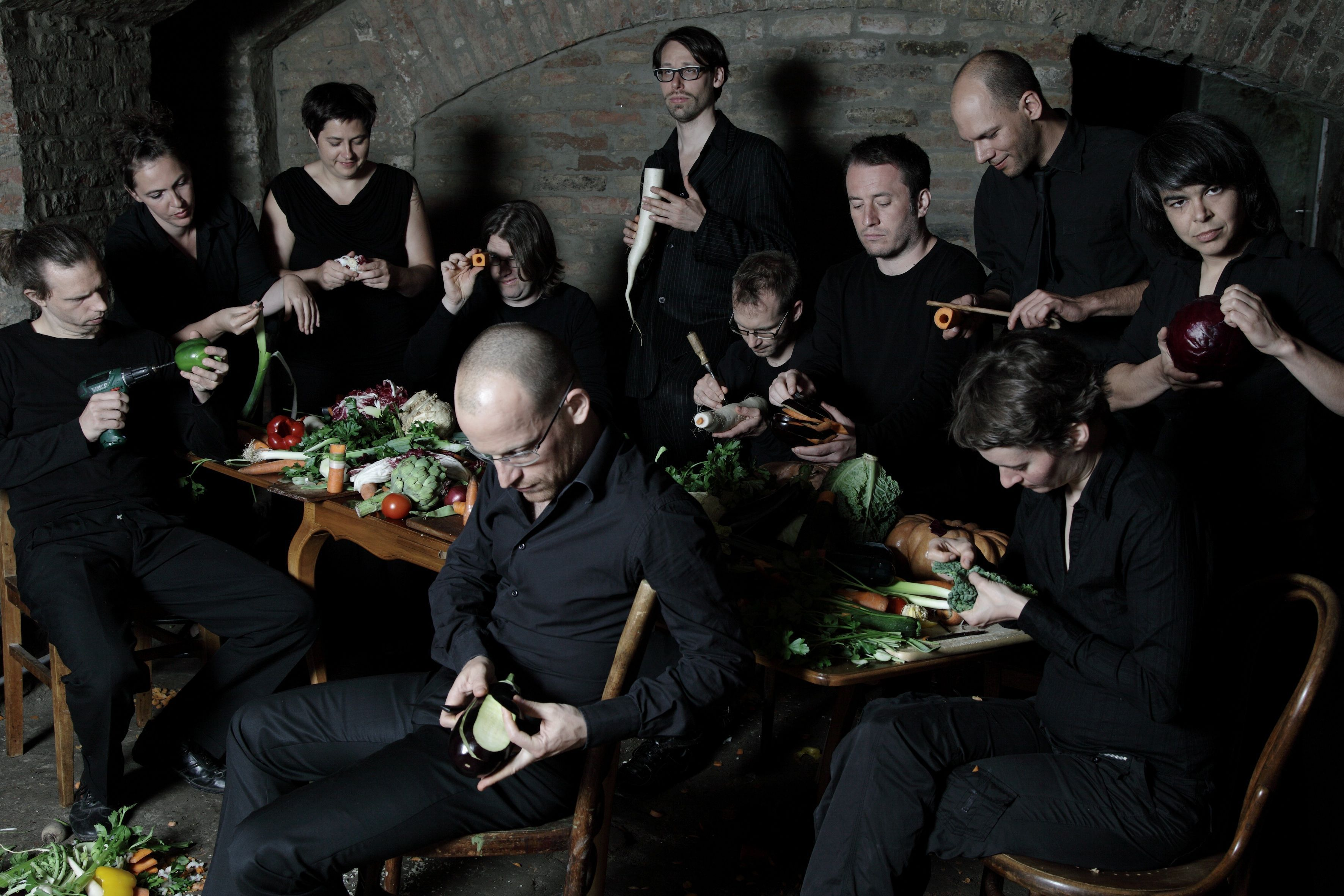 The Vegetable Orchestra -  © Zoefotografie