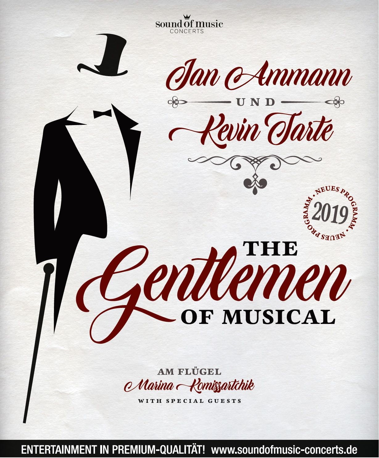 The Gentlemen of Musical -  © Archiv Theater Akzent