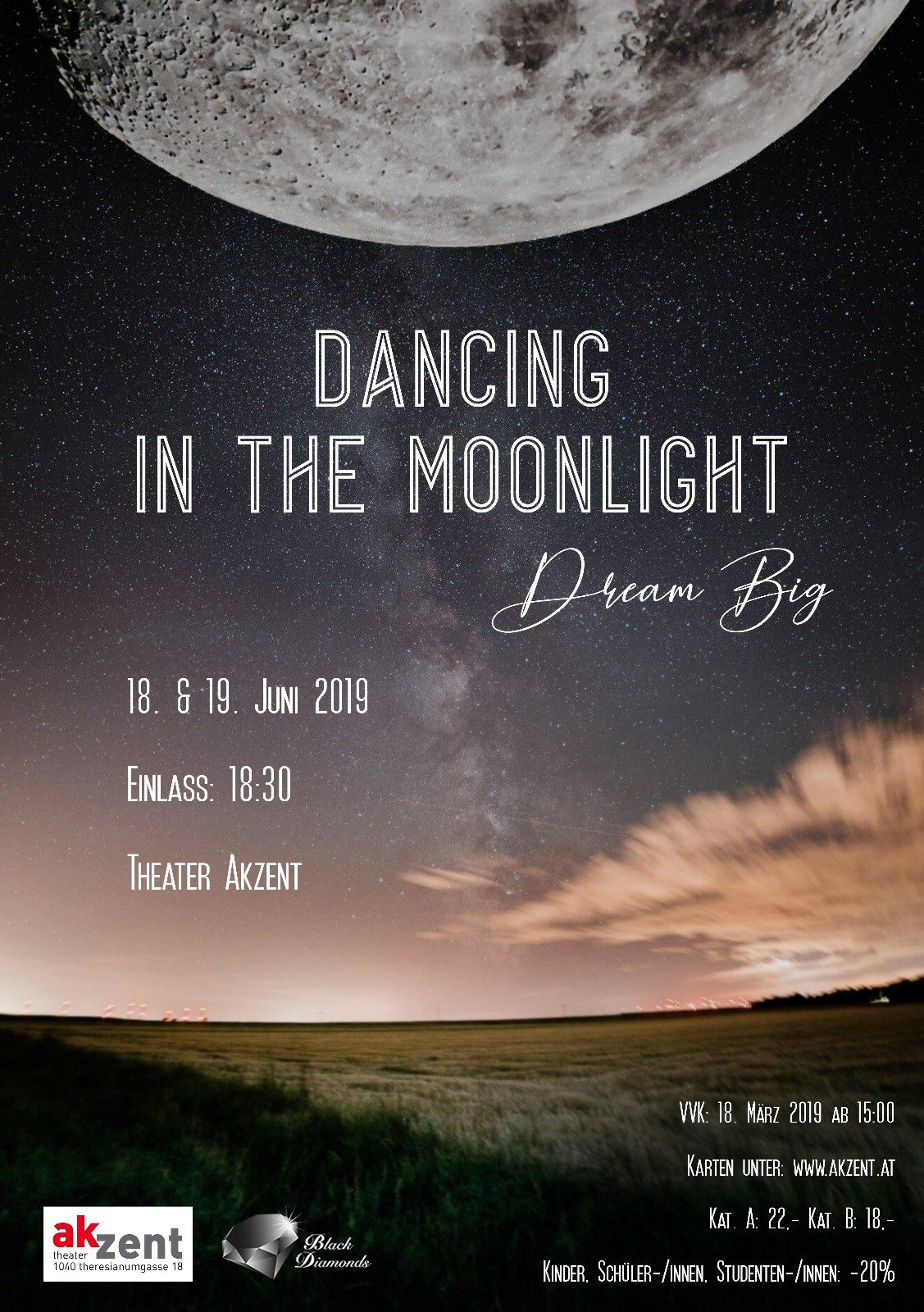 Dancing in the Moonlight -  © Archiv Theater Akzent